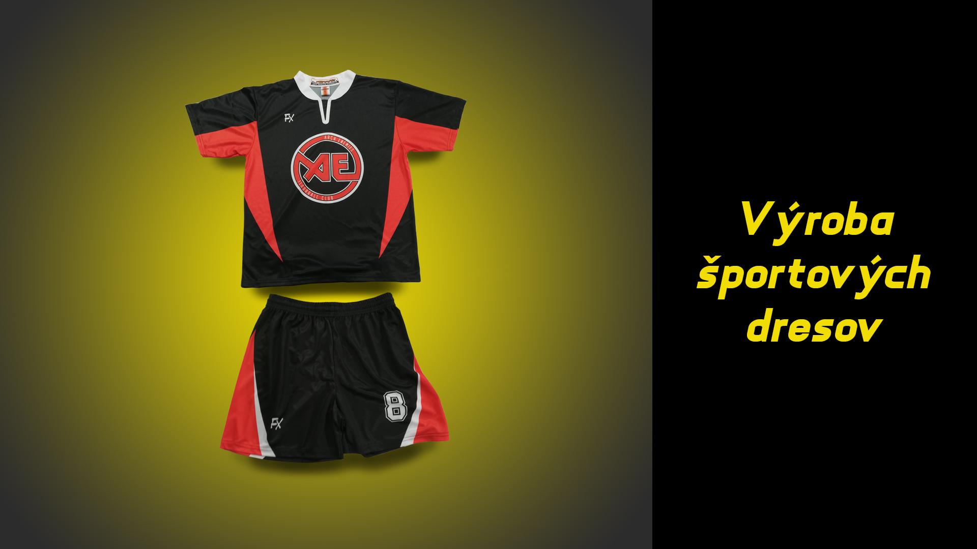 Výroba športových dresov